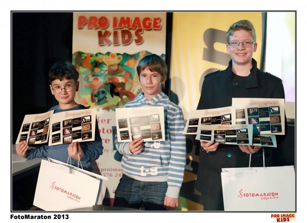 Castigatori Pro Image Kids, FotoMaraton 2013